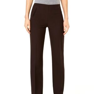 Style & Co Straight Leg Mid Rise Pant Size 14 S